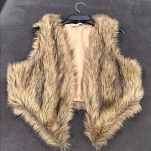 Fur Vest NWOT
